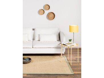 Tapis Sisal avec bordure Vert 80x150 cm - Tapis nature