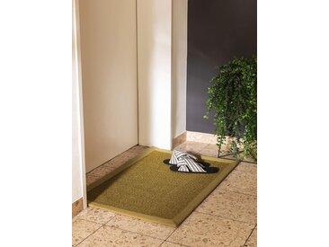Essuie-pieds Sana Vert 60x90 cm - Tapis poil court design moderne pour salon