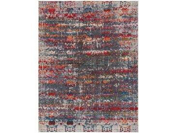 Tapis Vintage tisséàplat Cuma Multicouleur/Mauve 200x280 cm - Tapis poil ras / effet usé