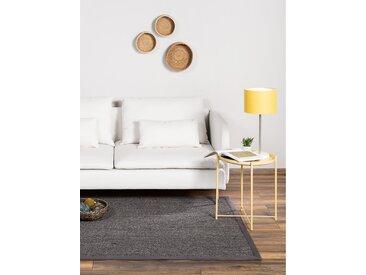 Tapis Sisal avec bordure Gris 150x150 cm - Tapis nature