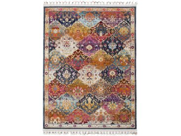 Tapis Vintage Simsala Multicouleur 120x170 cm - Tapis poil ras / effet usé