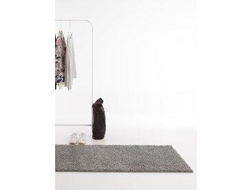 Tapis shaggy à poils longs Swirls Gris 80x300 cm - Tapis doux pour salon