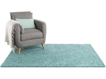 Tapis shaggy à poils longs Swirls Bleu clair 300x400 cm - Tapis doux pour salon