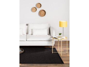 Tapis Sisal avec bordure Noir 150x150 cm - Tapis nature