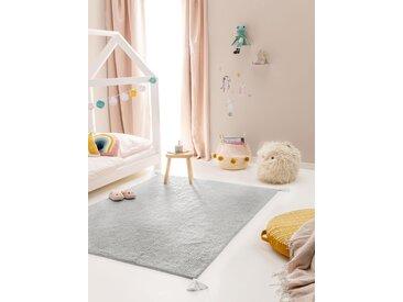 Lytte Tapis enfant Tilda Gris 150x220 cm - Tapis pour chambre d'enfants/bébé