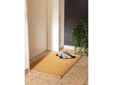 Essuie-pieds Sana Beige 40x60 cm - Tapis poil court design moderne pour salon