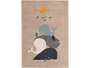 Tapis enfant Juno Beige 160x230 cm - Tapis pour chambre d'enfants/bébé