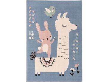 Tapis enfant Juno Bleu 160x230 cm - Tapis pour chambre d'enfants/bébé