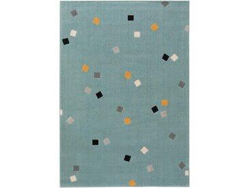 Tapis enfant Juno Turquoise 160x230 cm - Tapis pour chambre d'enfants/bébé