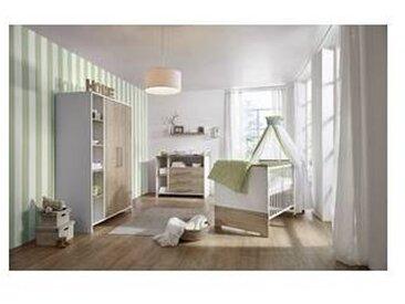 schardt Chambre bébé, Lit, Commode, Armoire 2 portes, Eco Plus, Schardt