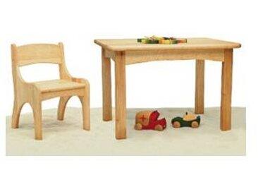 ostheimer Table enfant et chaise en aulne massif