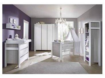 schardt Chambre bébé, lit, commode, armoire, Milano Gris