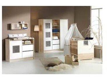 schardt Chambre bébé, lit, commode, grande armoire, Eco Slide, Schardt