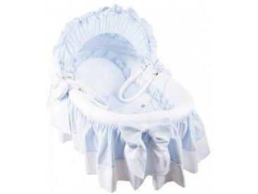 nougatine Couffin Prince Bleu, en osier tressé, Nougatine