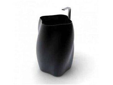 Viadurini Design Lavabo sur colonne moderne Flower, fait en Italie
