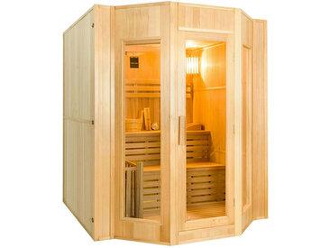 Sauna vapeur Zen 4 places avec poêle 6 kW
