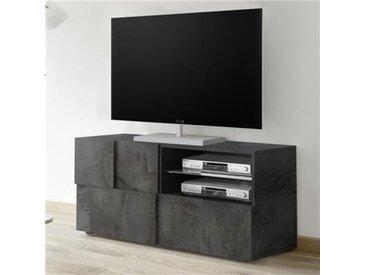Banc TV 120 cm anthracite design DOMINOS 5
