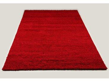 Tapis shaggy rouge de salon STEPHEN 4
