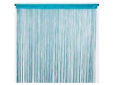 Rideau à fils FILOU (90x200cm) Bleu