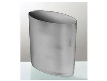 Corbeille à papier - 16 litres L. 36 x P. 21 x H. 31,8 cm coloris gris aluminium
