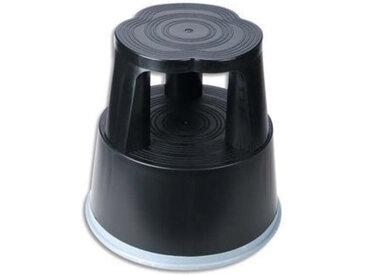Marchepied Rexel en plastique - diamètre 29 cm - hauteur 43cm - coloris noir