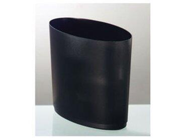 Corbeille à papier - 16 litres L. 36 x P. 21 x H. 31,8 cm coloris noir