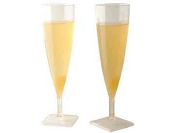 Flutes à champagne cristal - paquet de 10