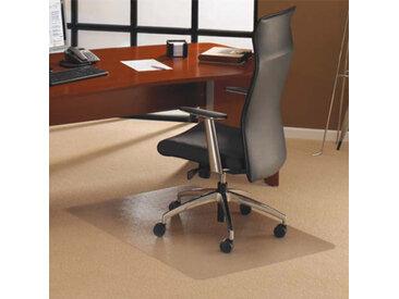 Tapis protège-sol en polycarbonate pour sol moquette Floortex - 121 x 134 cm