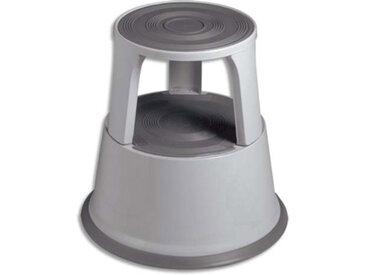 Marchepied 5 Etoiles en acier - diamètre 44 cm - hauteur 40 cm - coloris gris