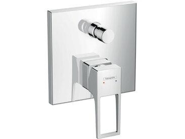 Metropol Mitigeur monocommande pour bain/douche encastré avec poignée étrier et combinaison de sécurité intégrée (74546000)