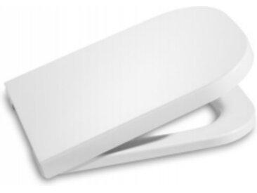 """Abattant thermodur double laqué avec frein de chute """"Silencio"""" pour WC, blanc (A801472004)"""