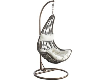 Fauteuil Dido Suspendu + Support Taupe - Outdoor
