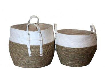 Paniers en rotin naturel - Boite à design