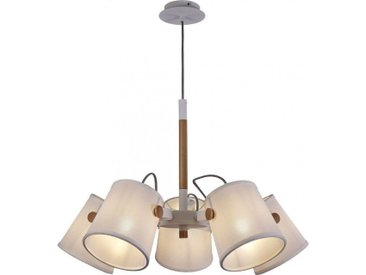 Lustre scandinave Nordica 5 lampes