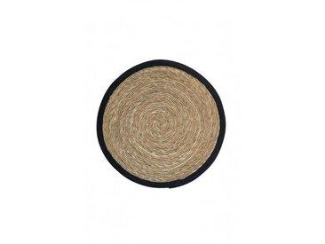 Tapis rond fibre naturelle 64 cm - Boite à design