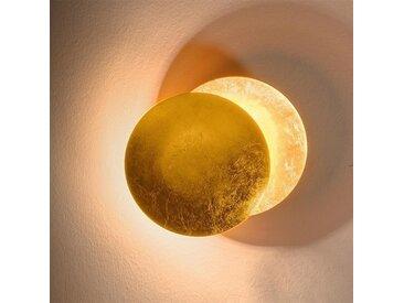 Eclipse - Applique murale, en cuivre antique et doré
