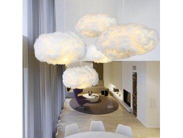 Cloudy - Suspensions luminaires nuages, en coton