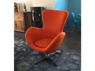 Fauteuil Cocoon sixties