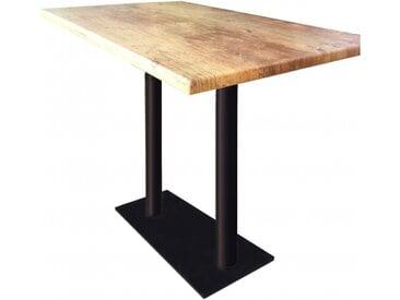 Table haute Oldwood