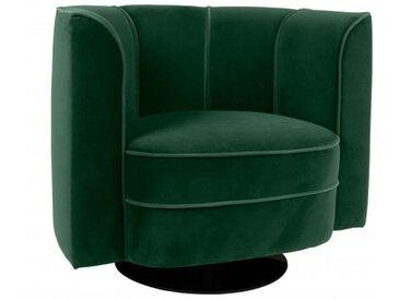 Fauteuil lounge Flower vert