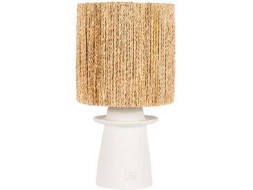 CORDE - Lampe à poser blanche