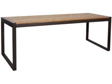 NEVADA - Table repas 180 cm bois massif clair