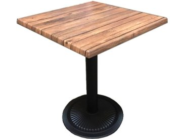 Table carrée bistro Oakland