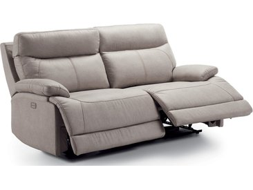 Canapé relax électrique 2 places BEZIERS  - Largeur 154 cm