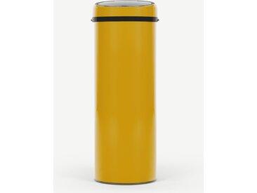 Sensé, poubelle automatique à capteur 50L, jaune
