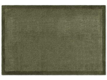 Jago, très grand tapis 200 x 300 cm, vert mousse