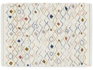 Fantaysha, tapis berbère en laine 160 x 230 cm, multicolore
