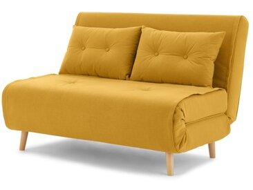 Haru, petit canapé convertible, bouton d'or