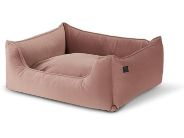 Kysler, lit pour animal de compagnie Medium, velours rose