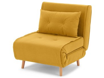 Haru, fauteuil convertible, bouton d'or